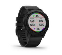 Часы для мультиспорта Garmin Fenix 6X Pro Black with Black Band (010-02157-01)